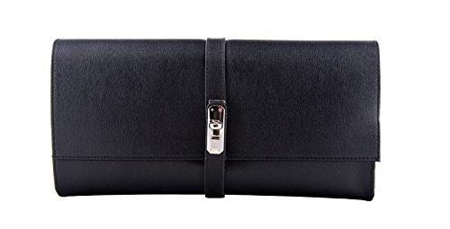 PIA Clutch Handtasche Geldbörse Portemonnaie aus echtem Leder für Damen