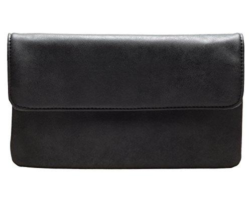 cecilia&bens Damen Clutch schwarz | kleine Tasche | Handtasche | Abendtasche