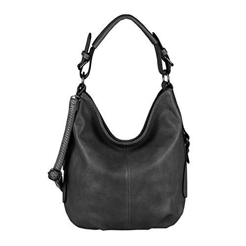 OBC Damen Tasche Shopper Hobo Bag Henkeltasche