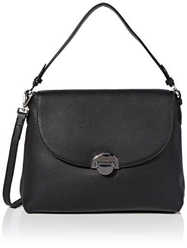 Bogner Damen Schultertasche Sulden Annie aus Leder Handtasche mit Überschlag