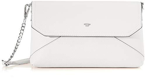 TOM TAILOR Acc Damen Vittoria Clutch, Weiß (Weiß), 28x16x3.5 cm