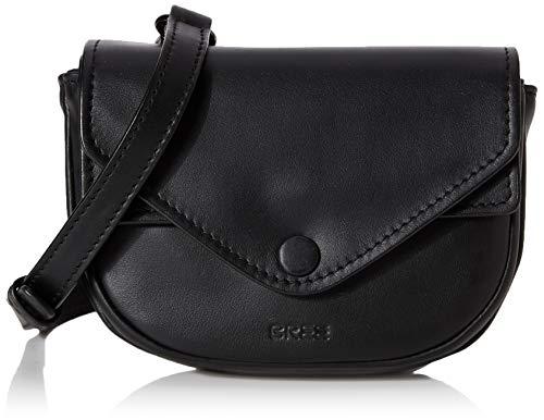 BREE Damen Elfin 1, Beltbag W19 Handgelenkstasche, Schwarz (Black), 8x14x22 cm