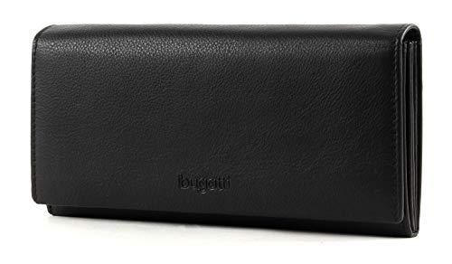 Bugatti Vertice Geldbörse Leder 19,5 cm (schwarz)