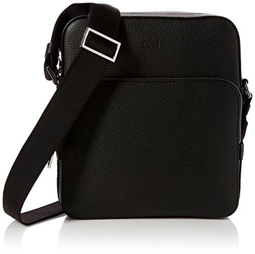BOSS Herren Crosstown_ns Pocket Schultertasche, 8 x 26 x 23 cm, Schwarz (Black)