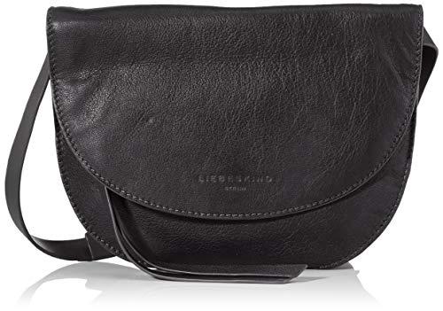 Liebeskind Berlin Damen Dive Bag 2-Clutch Small, Schwarz (Black), 2x21x21 cm