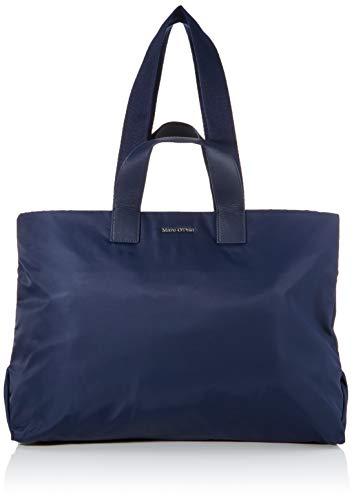 Marc O'Polo Damen Liberta Schultertasche, Blau (True Navy), 17x37x52 cm