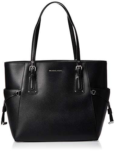 Michael Kors Damen Voyager bag, Schwarz (black), 15x27x34 cm