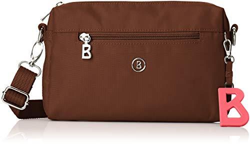Bogner Verbier Pukie Schultertasche Damen Tasche aus Nylon, shz, 4x15x22 cm