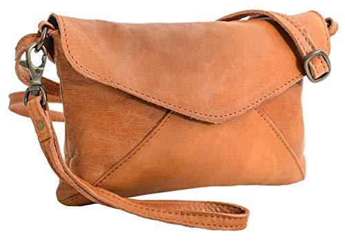 Gusti Umhängetasche Leder – Karisma Handtasche Ledertasche Vintage Braun Leder