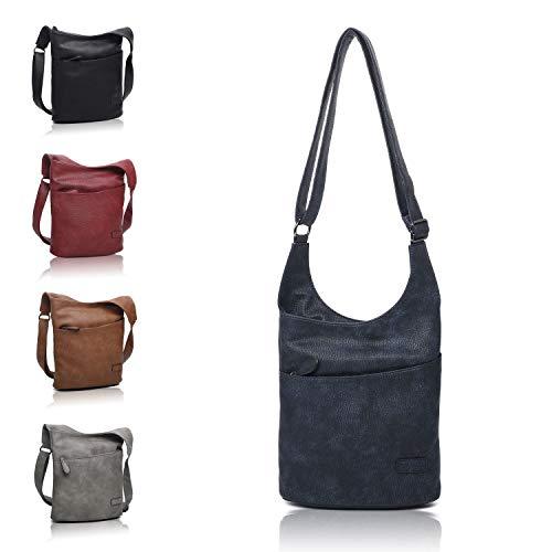 Umhängetasche Blau – Schultertasche – Damenhandtasche – Handtasche – Crossbody – Messenger Bag – Shopper Tasche – premium Tote